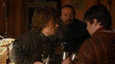 #serial #Gameofthrones (Il trono di spade)  #iltronodispade #tyrion #lannister #bronn #pod #HBO #HBOGO  s03e03