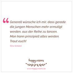 Im Interview erzählt Gina von der Gründung und den Aktionen des Glücksministeriums, gibt Tipps für angehende GründerInnen und verrät dir ihre schönsten Momente als Glücksministerin. Lass dich inspirieren! http://www.happyvisions.de/interview-gina-ministerium-glueck/