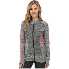 Soybu Peace Hoodie Women's Sweatshirt ($98) ❤ liked on Polyvore featuring tops, hoodies, long sleeve hoodie, full zip hoodies, block tops, sweatshirt hoodies and full zip hooded sweatshirt