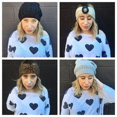Its Cold Outside, Winter Hats, Beanie, Warm, Sweaters, Fashion, Moda, La Mode, Pullover