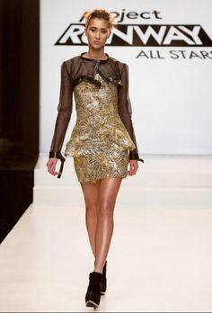 Project Runway All Stars Season 3 Irina Shabayeva Episode 3 Look