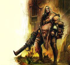 Warrior - Necromunda - Warhammer 40K - GW