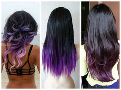 Image from http://www.hairworldmag.com/wp-content/uploads/2014/09/Dark-Hair-Purple-Ombre1.jpg.