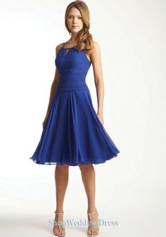 Ruched Sexy Knee Length Beauty Bridesmaid Dresses For Cheap