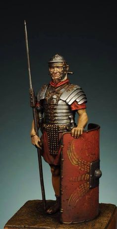 Great example of a Roman Soldier!  Many Legions available at www.treefrogtreasures.com from First Legion and Thomas Gunn Miniatures!