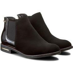 Kotníková obuv s elastickým prvkem JENNY FAIRY - WS1178-8 Černá