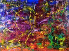 "Saatchi Art Artist Nestor Toro; Painting, ""Sand storm"" #art"