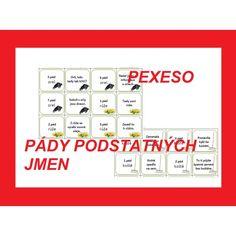 Pexeso - pády podstatných jmen Boarding Pass