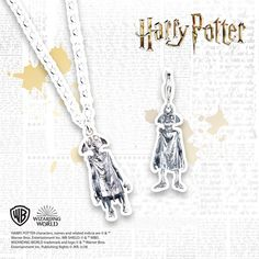 Beloved for his loyal comradeship to Harry, everyone's favourite house elf, Dobby features in this delightful necklace. The perfect gift for 'Potterheads' Harry Potter Characters, Necklace Online, Dobby, Elf, Arrow Necklace, Jewlery, Waiting, Letter, Sterling Silver