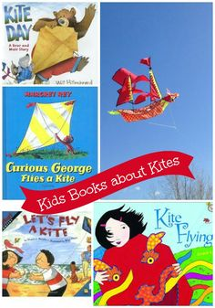 Enjoy some great books about kites and then head out & explore science with your kite!