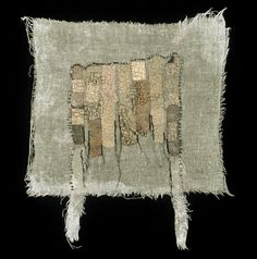 Pressed by Beth Barron Found band-aids and beads, hand stitched