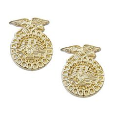 Emblem Earrings, oh my goodness!!!!! I want them!!!