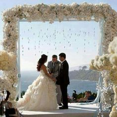 The most special day of your life is slowly knocking on your door and you still don't know what decoration to pick. If you have a wedding planer, she/he Wedding Ceremony Ideas, Wedding Altars, Wedding Pics, Wedding Bells, Wedding Themes, Wedding Venues, Dream Wedding, Wedding Decorations, Wedding Dresses