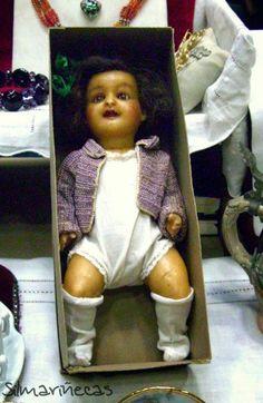 Muñecas - Feria desembalaje de antigüedades en el BEC marzo 2014
