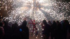The spectacular Correfoc, Girona Fires 2014