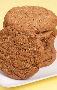 Low Fat Peanut Butter Cookies - My Vegan Cookbook - Vegan Baking Cooking Recipes Tips