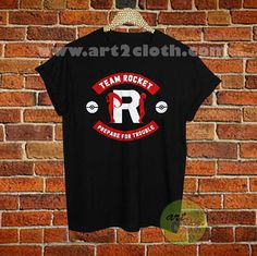 Pokemon Team Rocket Prepare For Trouble T Shirt //Price: $12 //     #FashionWomens