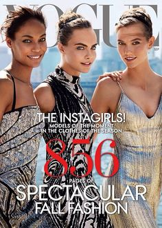 Vogue USA September 2014  ALIVE AND KICKING | TheyAllHateUs
