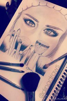 Image via We Heart It https://weheartit.com/entry/148955874 #amazing #artist #beauty #draw #eyes #girl #girly #lady #love #makeup #pencil #sketch #sketching #winter #wip #arting #عربي #عرب #drawinggirl #شعر #مكياج #رمزيات #amazingeyes #عيون #رسم #فنانين #رسمتي #رسامين #eyesdrawing #مطرشتاء