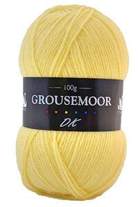 Grousemoor DK is a premium wool yarn that is beautifully soft and available in a perfect range of shades. Custard, Wool Yarn, Ranges, Yarns, Shades, Beauty, Fashion, Moda, Cream