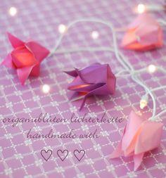 Origami lights - cute!
