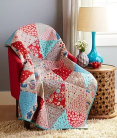 Try, Tri Again in quilts and more Spring 2014