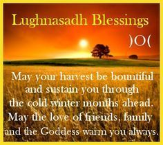 Lammas/Lughnasadh/First Harvest Blessing )O( august : happy Lughnasadh! Harvest Season, Harvest Time, Beltane, Kitchen Witch, Summer Solstice, Book Of Shadows, Magick, Witchcraft, Spelling