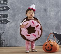 Baby Donut Costume | Pottery Barn Kids ✿. ☺