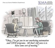 Let's get down to business and move in the right direction! Comic coming from the Sales LeadManagement Association. Marketing Automation, Marketing Software, Lead Management, Cartoons, Comic, Business, Cartoon, Cartoon Movies, Comic Strips