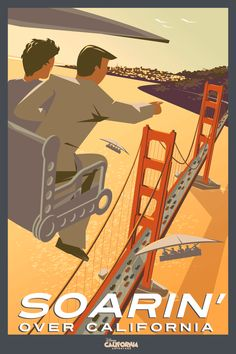 disney ride posters for sale | ... with New Disney California Adventure Park Updates « Disney Parks Blog