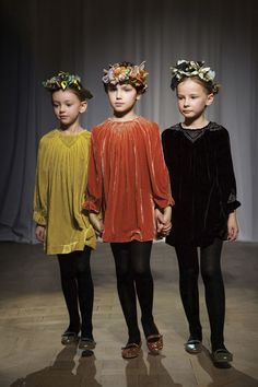 Consider the outcome as these babies may need more love than the traditional home after freezing in lab storage/ Maybe fashion is appropriate with lots of care or baby sitters/Bonpoint Winter 2015 Fashion Show Kids Fashion Show, Kids Winter Fashion, Toddler Fashion, Girl Fashion, Outfits Niños, Inspiration Mode, Little Fashionista, Cute Outfits For Kids, Stylish Kids