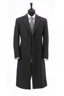 Black Cashmere Blend Over Coat