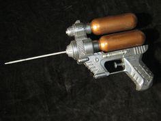 Steampunk Syringe Gun. $17.00, via Etsy.