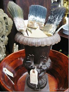 Like the deer horns on the urn!