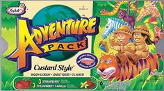 Remember in the 1990s when yogurt was all about adventure?