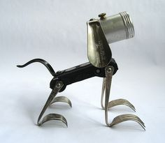 Boots - Robot Assemblage Sculpture by Brian Marshall by adopt-a-bot, via Flickr