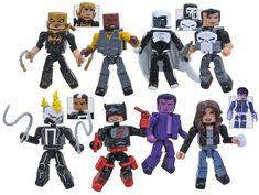 Marvel Minimates Wave 75 Two Pack Set of 4 #transformer