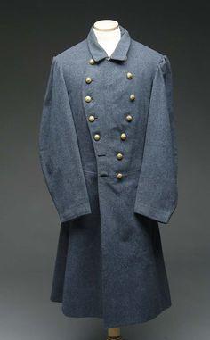Confederate Navy frock coat