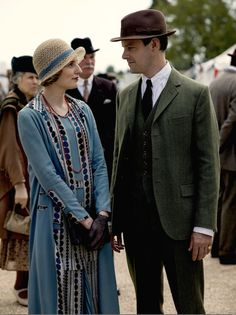"""Downton Abbey"" - Lady Edith & Bertie Pelham"