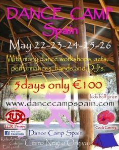 Dance Camp Spain, Spanish dance camps, Summer dance camp