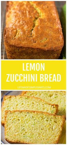 You're going to love this bright and zesty twist on classic zucchini bread! One slice of this lemon zucchini bread and you'll be hooked for life! #lemonzucchinibread #zucchinibread #lemon #zucchini #quickbread