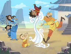 Avatar parenting. Oh my gosh, that'd be terrible when I watch the little kids at Sunday school O_O