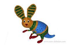 fotos de alebrijes conejo