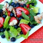 Grilled Chicken & Berry Salad...perfect salad for the 4th!
