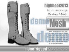 highboot2013__non_riggedMesh demo