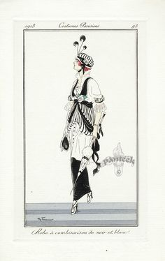 Fashion through the Eyes of Paintings and Illustrations - Page 4 - the Fashion Spot