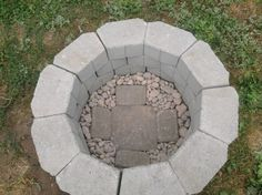 DIY fire pit for under $40..... SEEMS SO SIMPLE.....GREAT IDEA!