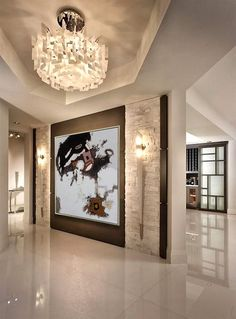 Painting on canvas abstract painting contemporary art Extra large wall art large canvas art acrylic painting Original Art modern art Interior Paint Colors, Home Interior Design, Interior Decorating, Interior Painting, Interior Ideas, Modern Interior, Decorating Ideas, Decor Ideas, Living Room Paint