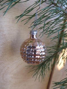 Set of 3 #vintage mercury glass #ornaments, made in USSR.   Not exactly what you're looking for? More of Soviet #Christmas decorations are available here: https://www.etsy.com... #christmas #ussr #decorations