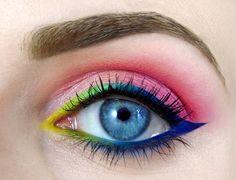 A Maquiagem dos Olhos Também é uma Arte!